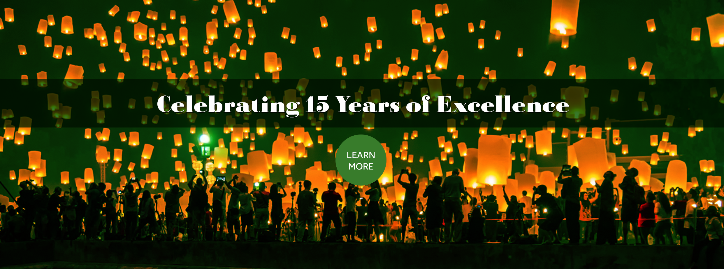 Celebrating 15 Years of Excellence