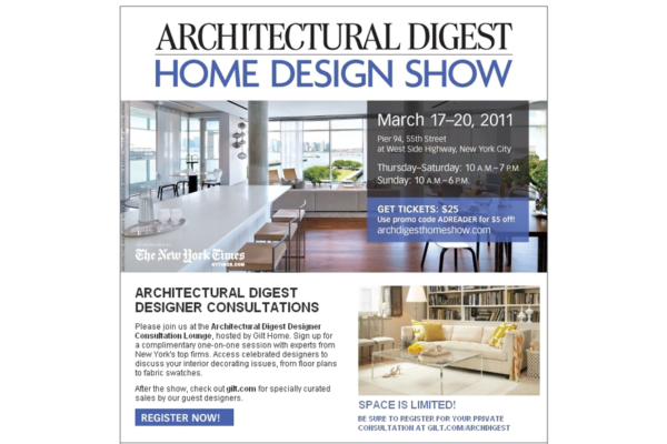 Case Study Architectural Digest Home Design Show Eberly Collard Public Relations